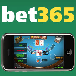 now you can place your bets and play casinos games on your mobile device at bet 365