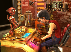 Miles Bellhouse and his curious machine slot game review