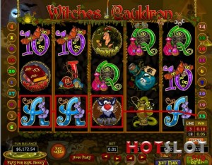 Witches Cauldron Slot Machine