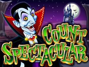 count spectacular halloween slots game