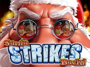 Santa strikes back progressive slot game